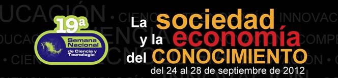 Banner Semana Nacional de Ciencia y Tecnología