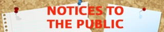 Noticies to the Public